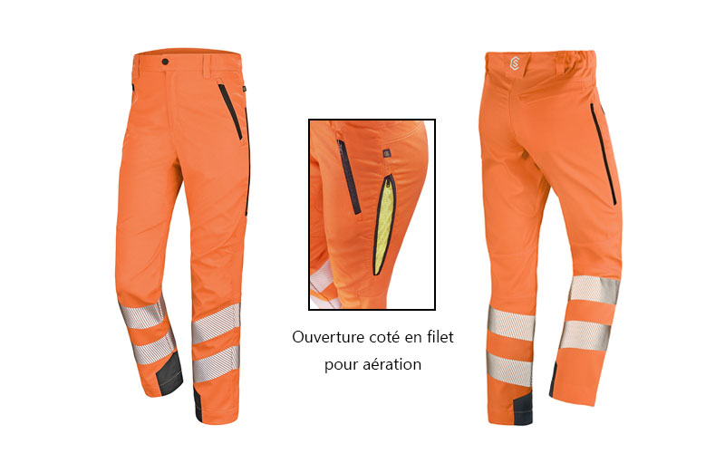 Collection D'un La S'étoffe Pantalon Conçu Safe Spécialement Fluo 4q3AjL5R