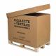 boxtextile prête à l'utilisation pour le recyclage de vêtements